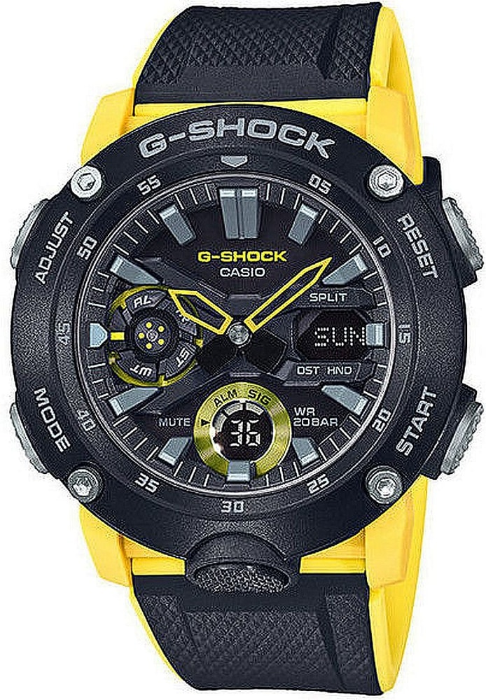 Casio G-Shock Carbon Core Guard GA-2000-1A9ER