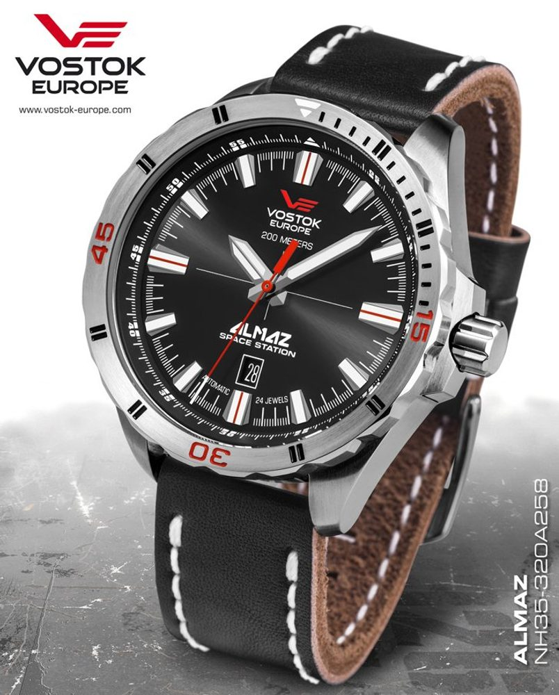 Vostok Europe Almaz Automatic NH35A-320A258