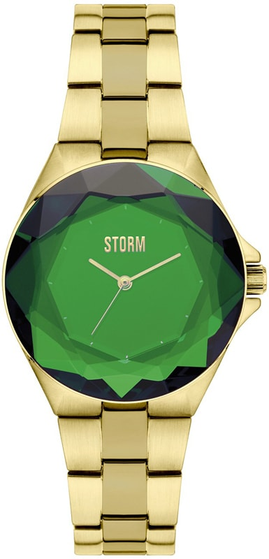 Storm Crystana Gold Green 47254-GN