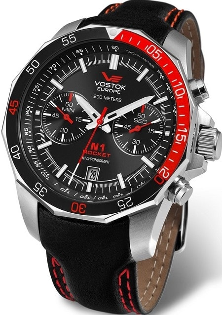 Vostok Europe N-1 Rocket Chrono 6S21-2255295