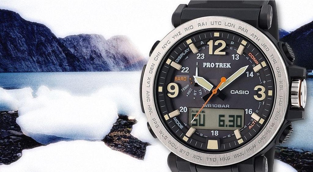 0b2a9ccb5 Casio Pro Trek - PRG-600-1ER - TimeStore.sk