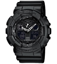 f10fceeb1 Hodinky Casio G-Shock Chronograph GA-100-1A1ER