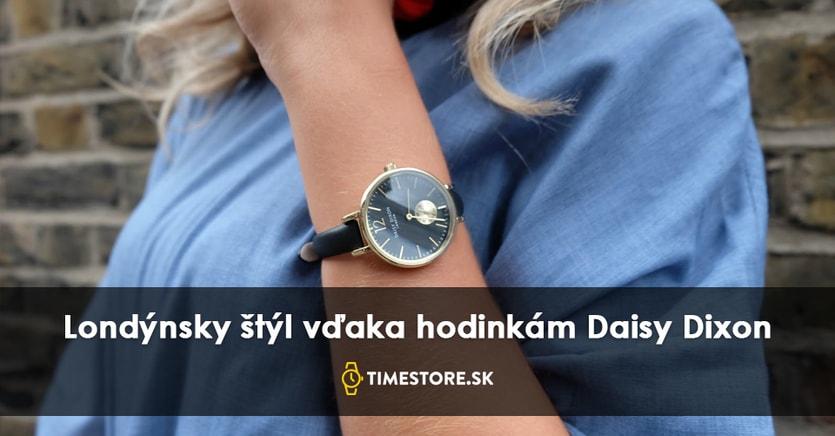 73b73de9c Elegantné a očarujúce hodinky Daisy Dixon - TimeStore.sk