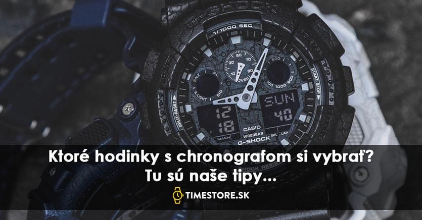 66e8a49eb Hodinky s chronografom sú opäť v móde: ktoré si vybrať? - TimeStore.sk