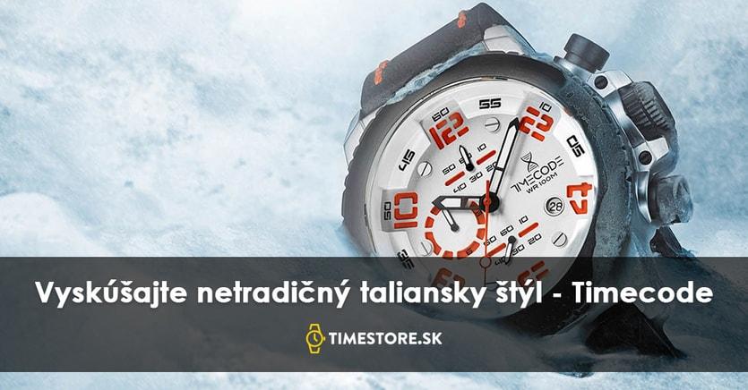3d8599b53 Chcete získať taliansky štýl? Skúste novú značku hodiniek TimeCode ...