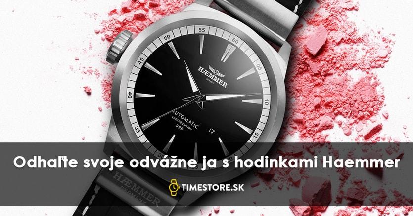 b7932c0e7 Za 10 rokov k úspechu: príbeh hodiniek značky Haemmer - TimeStore.sk