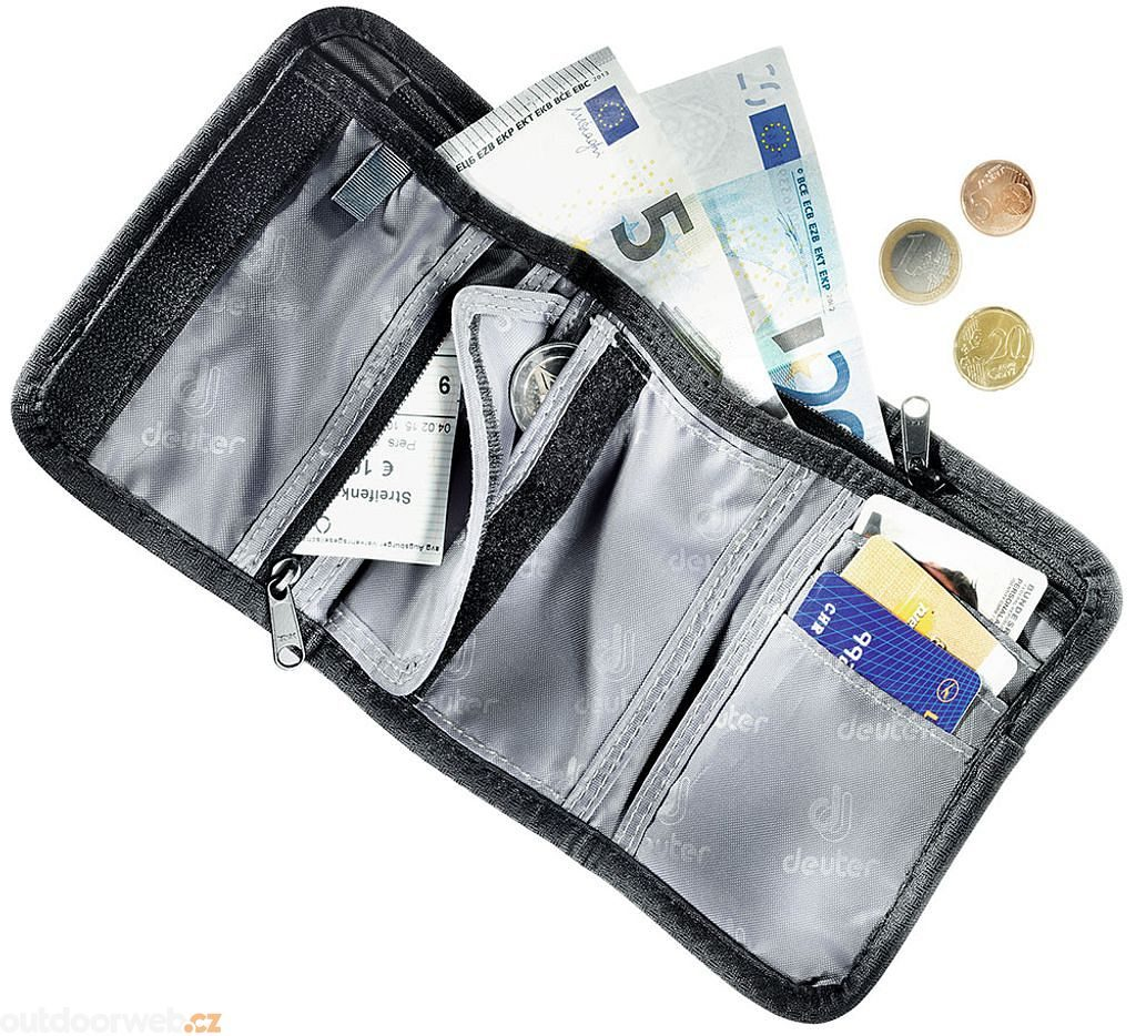 Travel Wallet black - peněženka