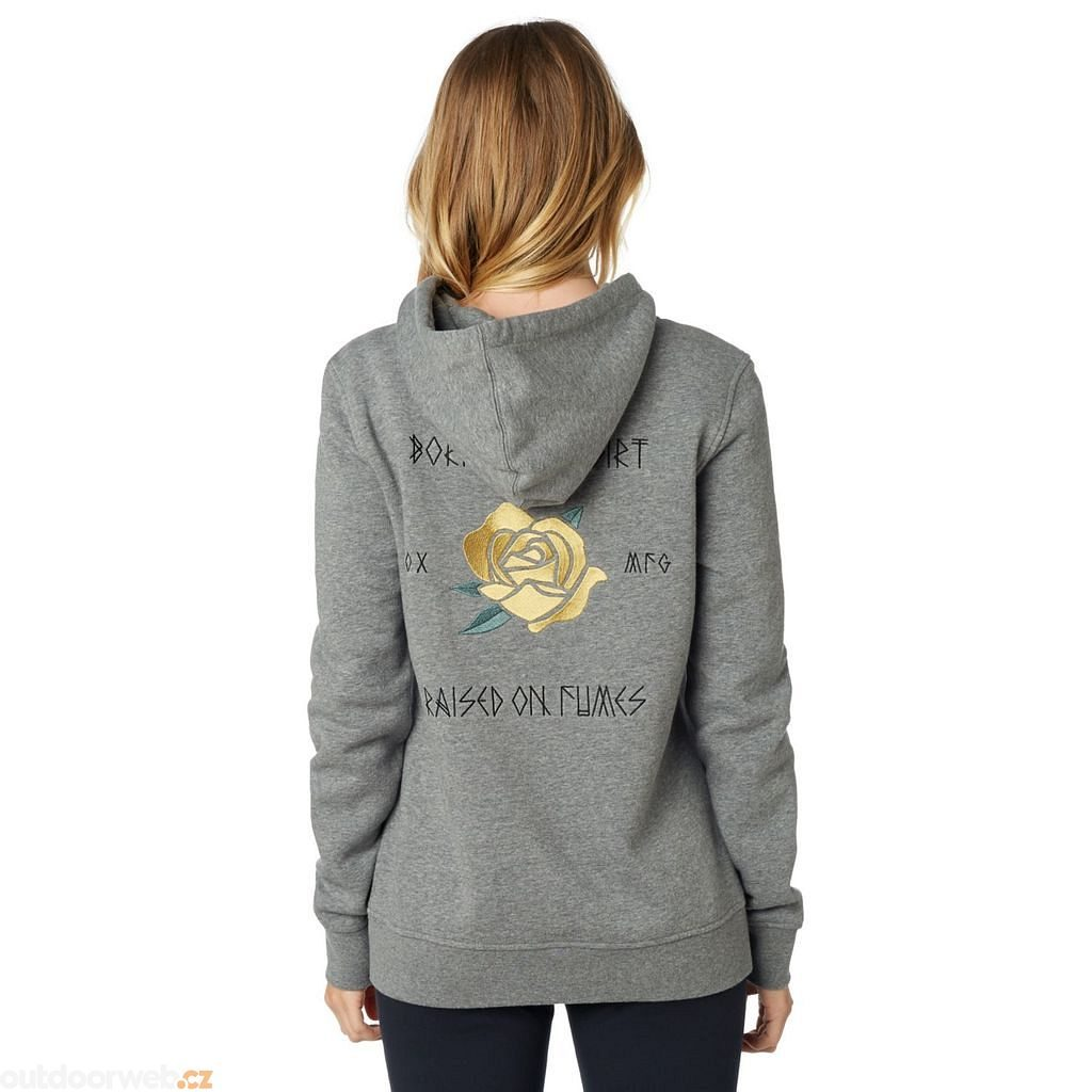 Rosey Po Hoody, heather graphite