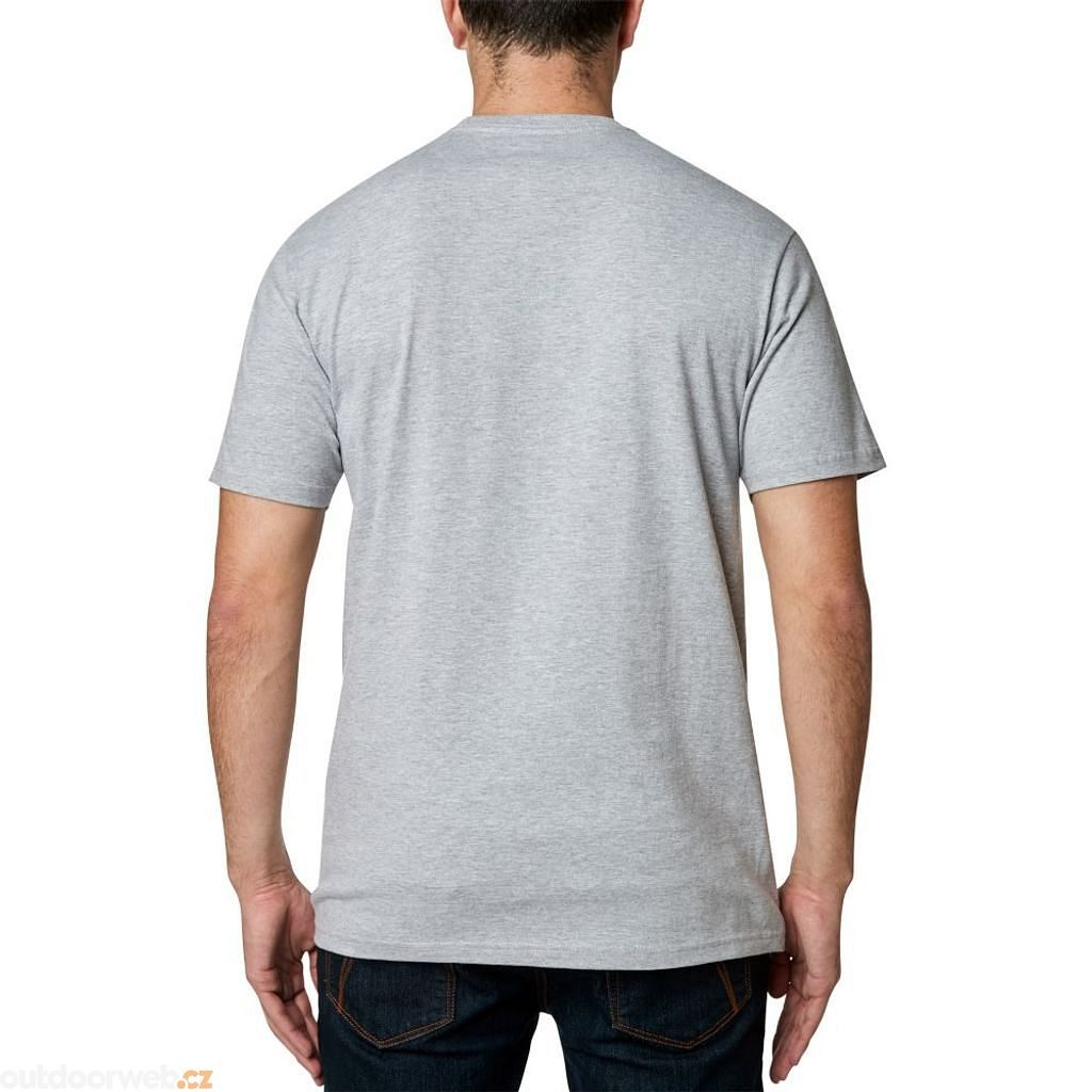 Grit Ss Tee Light Heather Grey