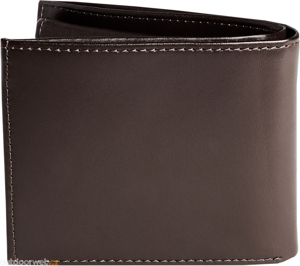 Bifold Leather Wallet OS, brown