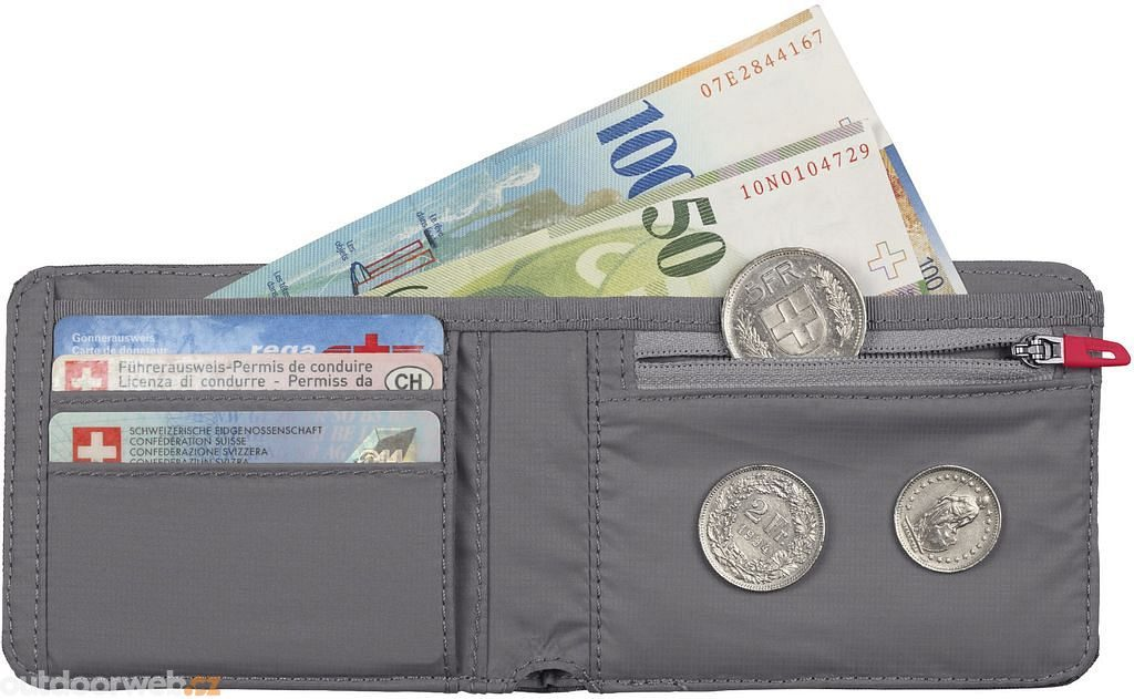 Flap Wallet Mélange, black