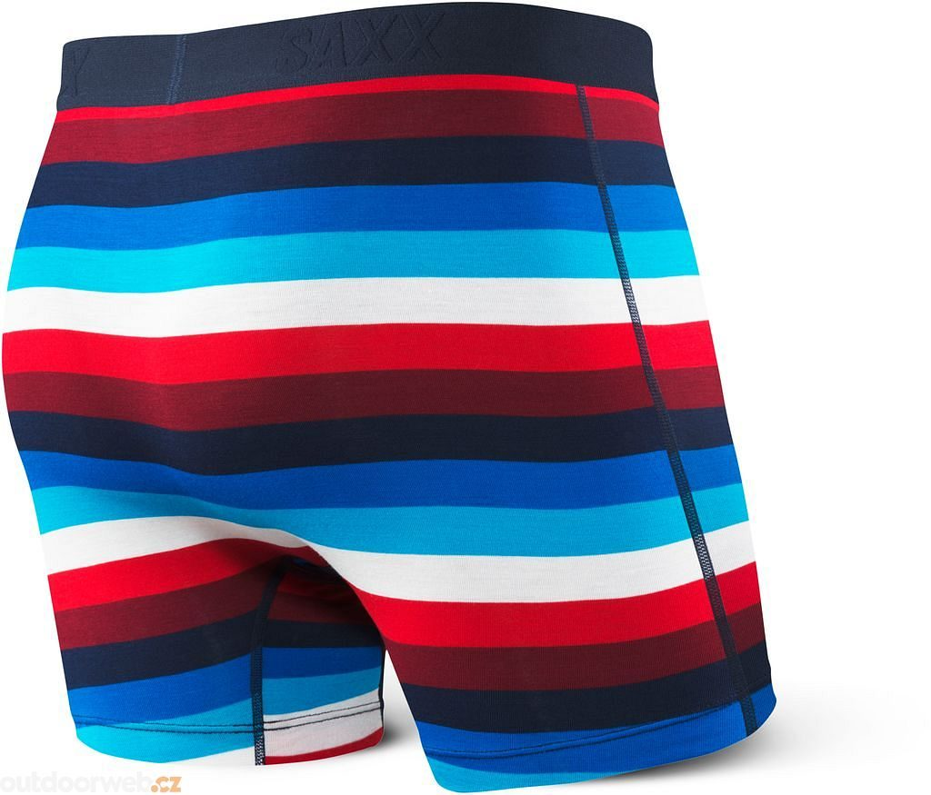 ULTRA BOXER BRIEF FLY navy/red cabana stripe