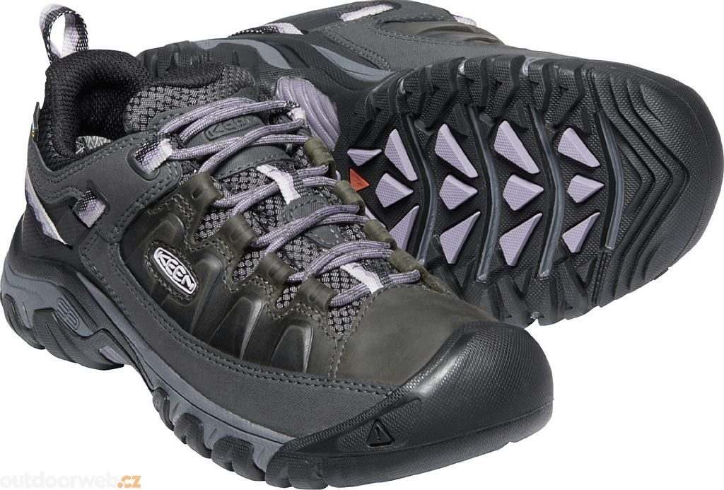 TARGHEE III WP W black/thistle