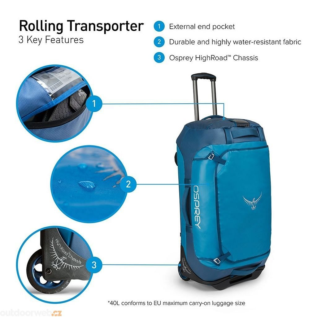 Rolling Transporter 40, Kingfisher Blue