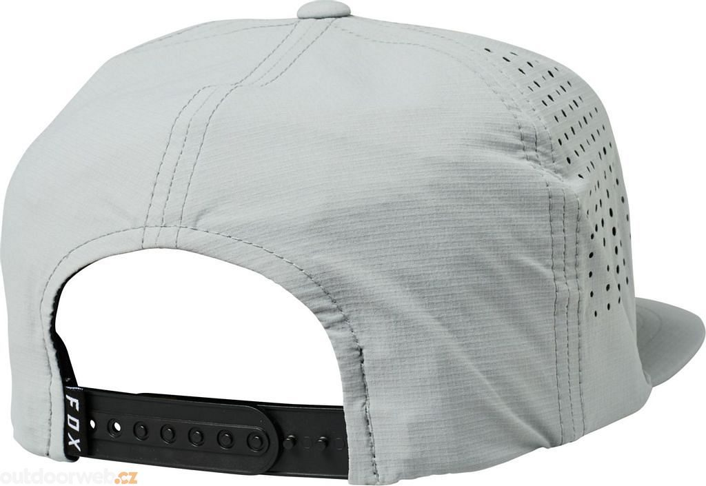 Shielded Snapback Hat Grey