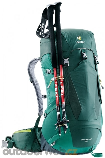 6caa70be2d Futura PRO 36 forest-alpinegreen - DEUTER - turistické batohy - turistika -  3 432 Kč