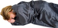Silk Sleeping Bag Liner grey mummy