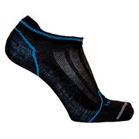 Merino Ultralight Multisport No Show BLACK/BLUE