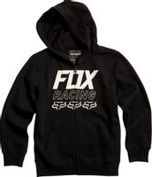 Youth Overdrive Zip Fleece Black