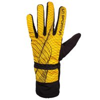 Winter Running Gloves M yellow/black