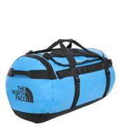 BASE CAMP DUFFEL L, 95L CLEAR LAKE BLUE/TNF BLACK