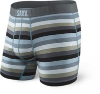 ULTRA BOXER BRIEF FLY, dk charcoal stripe