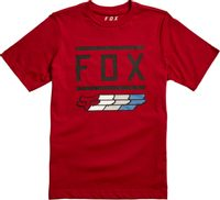 Youth Super Fox Ss Tee Cardinal