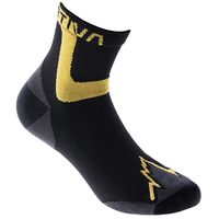 Ultra Running Socks, Black/Yellow