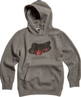 Youth Beat It Po Fleece Heather Graphite