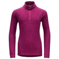 Duo active junior zip neck plum