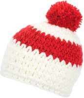 Bennet Pompon MÜ, white/fiery red/white
