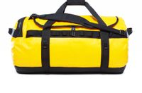 BASE CAMP DUFFEL L, 95L GOLD/BLACK