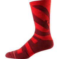 "8"" Trail Cushion Sock cardinal"