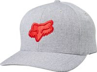 Transposition Flexfit Hat, Grey/Red