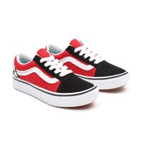 JN ComfyCush Old Skool (checkerboard), black/red