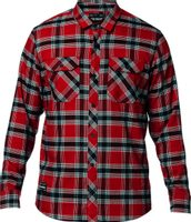 Fusion Tech Flannel Cardinal