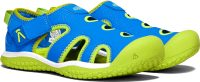 STINGRAY Y, brilliant blue/chartreuse