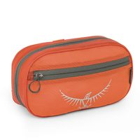 Ultralight Washbag Zip, Poppy Orange