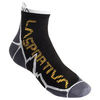 Long Distance Socks, 29S Black/Yellow