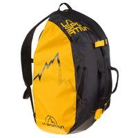 Medium Rope Bag, Black/Yellow