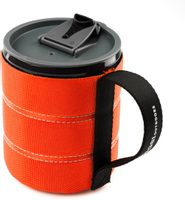 Infinity Backpacker Mug 500ml Orange