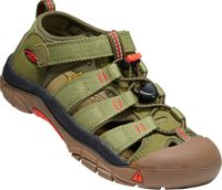 NEWPORT H2 CHILDREN olive drab/orange