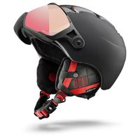SPHERE RA PF 1-3 HC, black/red - zebra light