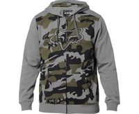 Destrakt Camo Zip Fleece Grey Camo