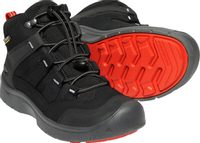 HIKEPORT MID WP Y, black/bright red