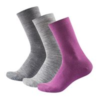 Daily Light Woman Sock 3pk Anemone mix