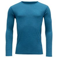 Breeze man shirt, blue melange