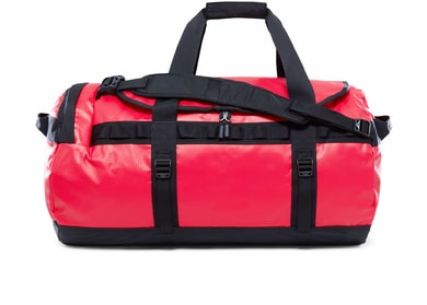 BASE CAMP DUFFEL M, 71L RED/BLACK