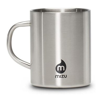 CAMP CUP - 450ml - Stainless w Black