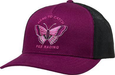 Flutter Trucker Hat Dark Purple